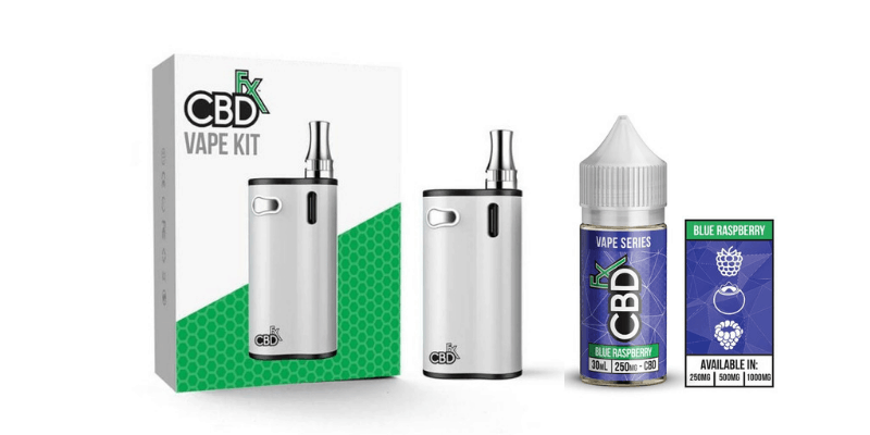 CBDfx Vape Kit and CBD Vape Juice