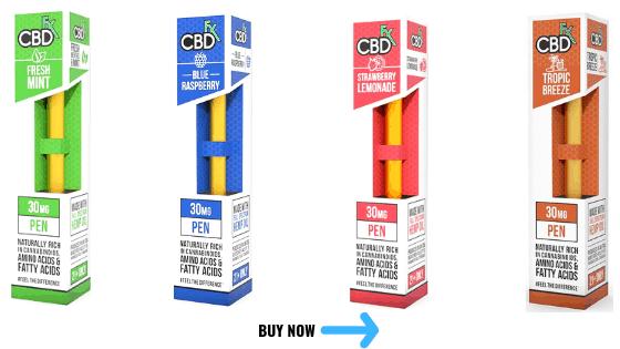 CBDfx Disposable CBD Vape Pens