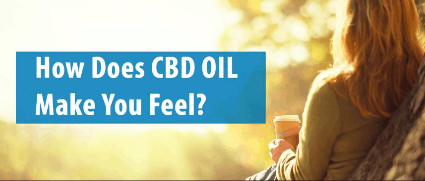How does CBD make you feel?