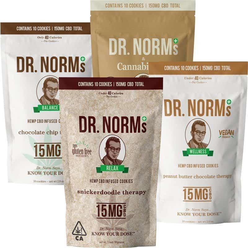Dr. Norms CBD Cookies