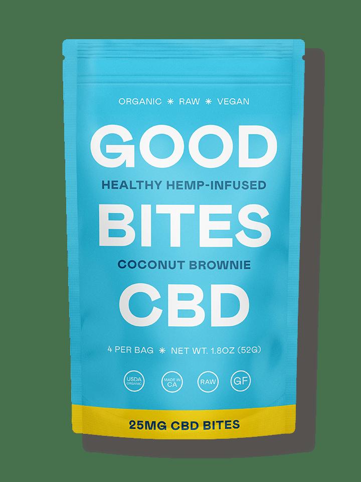 Good Bites CBD Coconut Brownie
