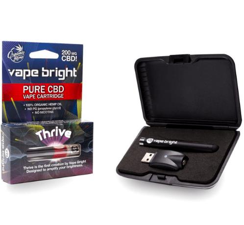 CBD oil vape pen starter kit