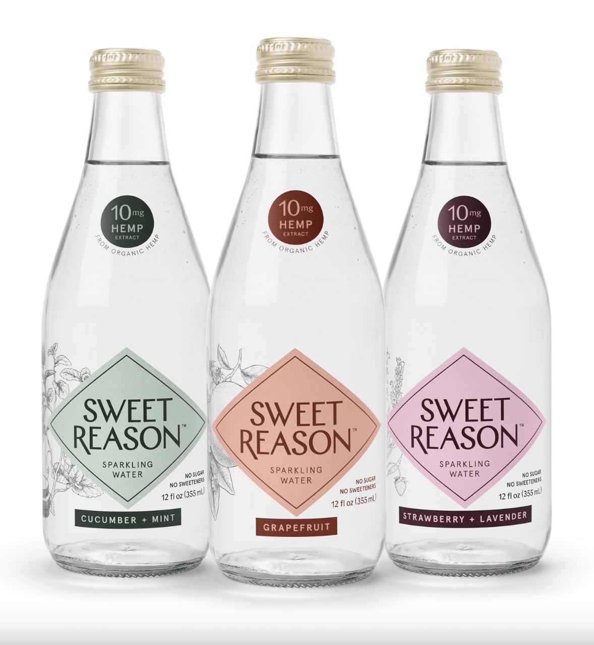 Sweet Reason CBD Sparkling Water