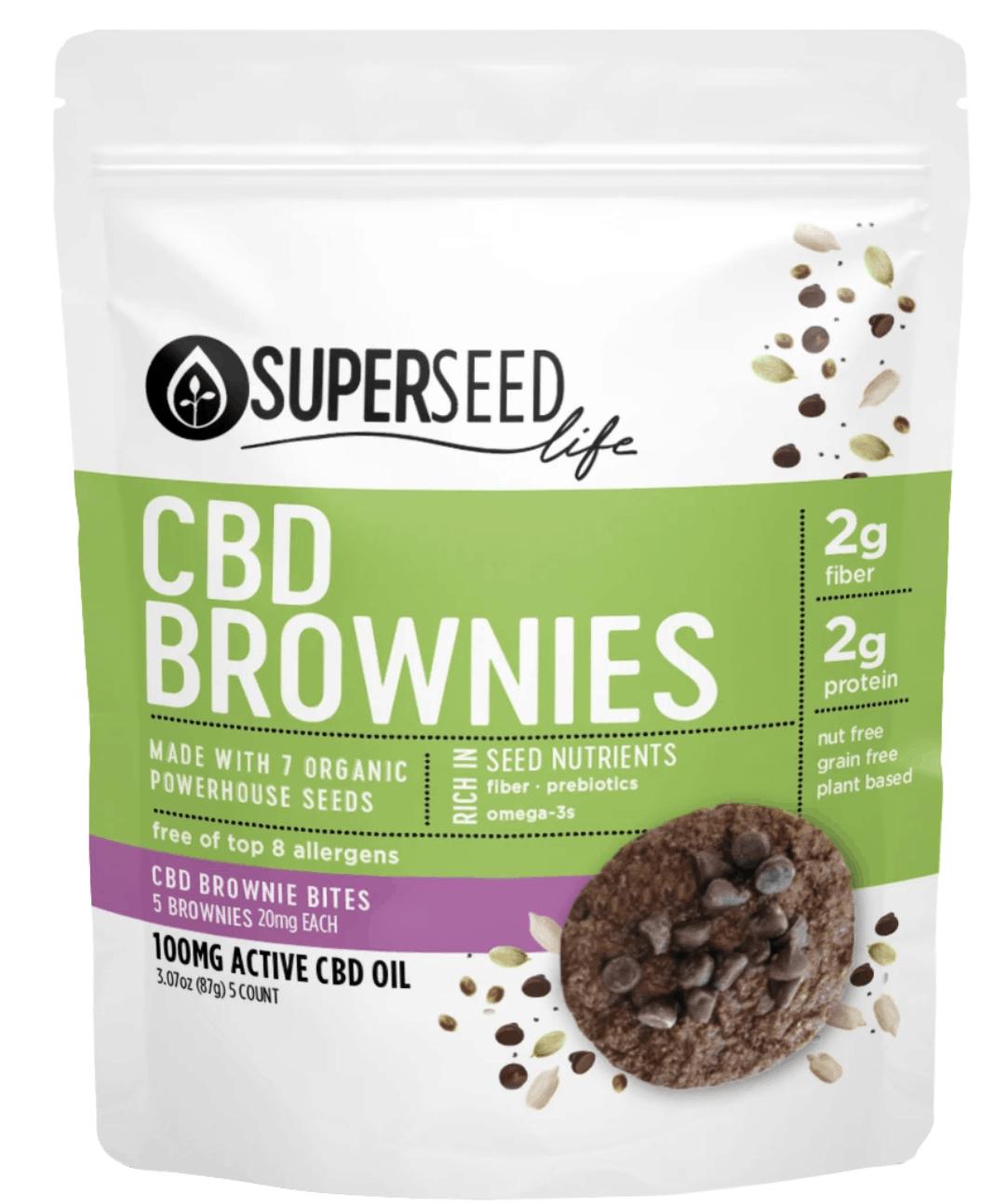 SuperSeed CBD Brownies