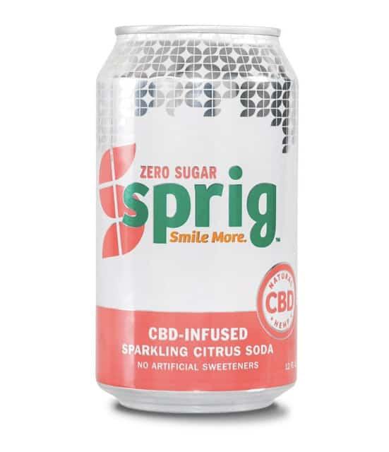 Sprig CBD Sparkling Soda