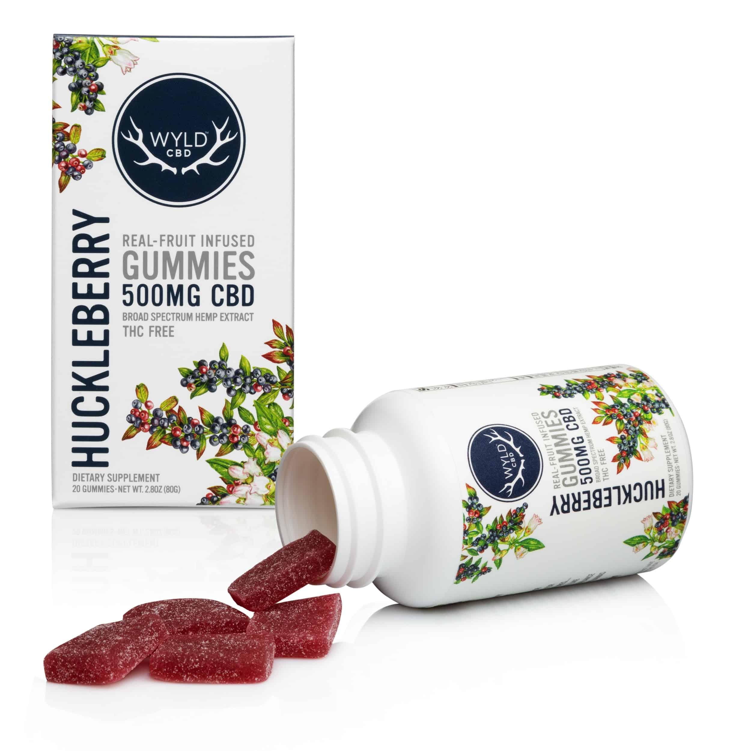 Wyld CBD Huckleberry Gummies