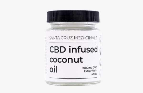 sata cruz medicinals cbd coconut oil