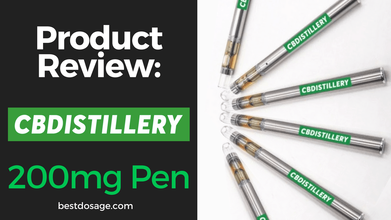 CBDistillery 200mg Vape Pen