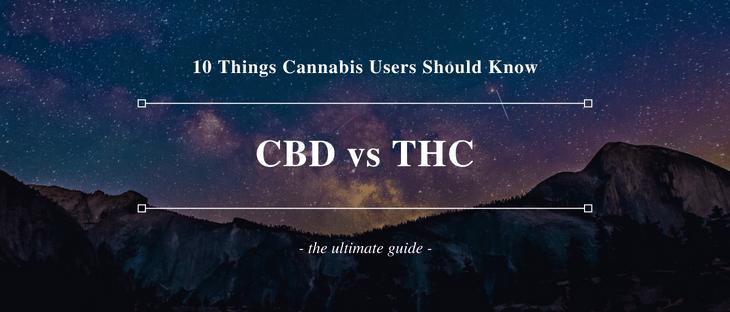 CBD vs THC comparison