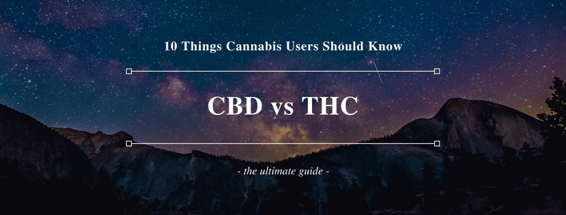 CBD vs THC comparison