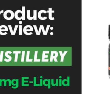 CBDistillery vape juice 1000mg review
