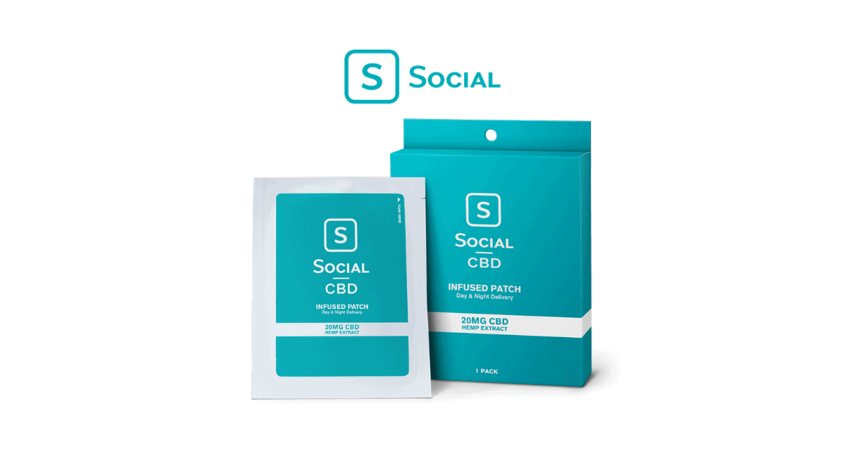 Social CBD Patch