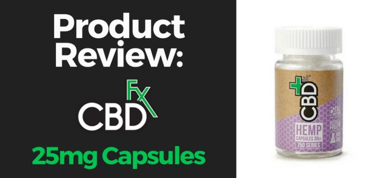 CBDfx 25mg Capsule Review