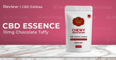 CBD Essence 10mg Hemp Taffy Review