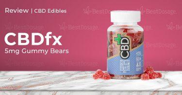 CBDfx 5mg Gummy Review
