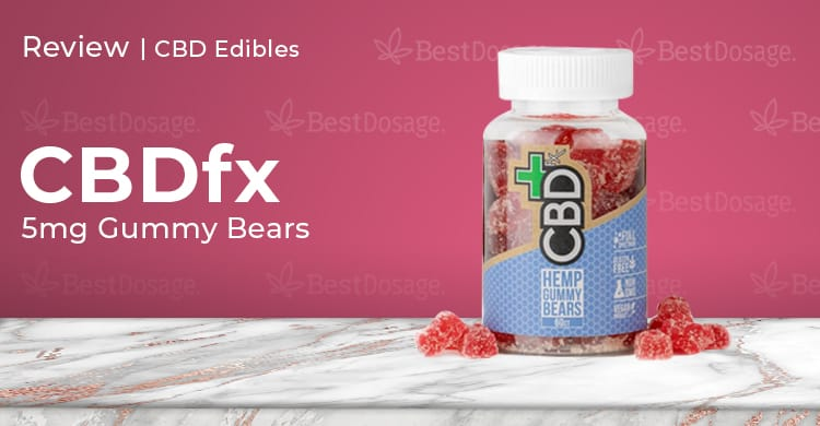CBDfx 5mg Gummy Review