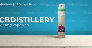 CBDistillery 200mg Vape Pen Review