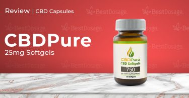 CBDPure CBD Softgel Review