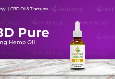 CBDPure 600mg Hemp Oil Review