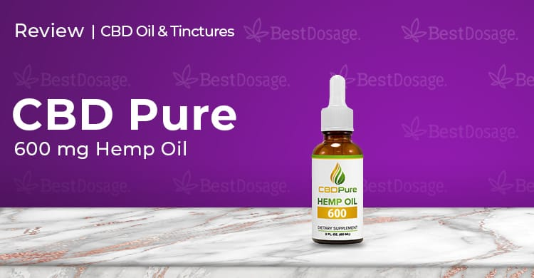 CBDPure 600mg Hemp Oil Review