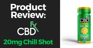 CBdfx chill shot review