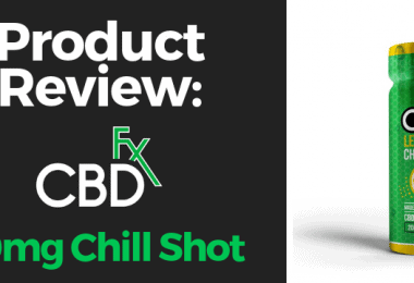 CBdfx chill shot review