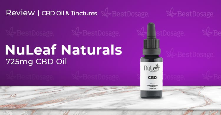 Nuleaf Naturals 725mg CBD Oil Review