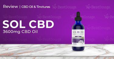 SOLCBD 3600mg CBD Tincture Review