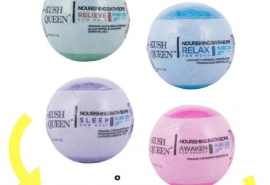 Kush Queen CBD Bath Bomb Review