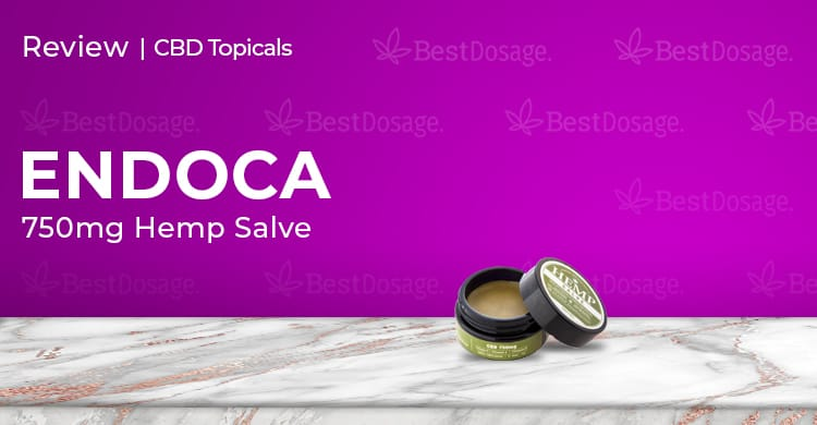 Endoca Hemp Salve 750mg Review