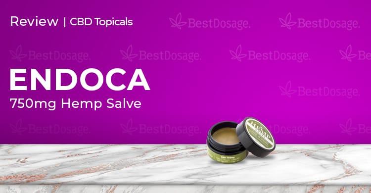 Endoca Hemp Salve 750mg Review
