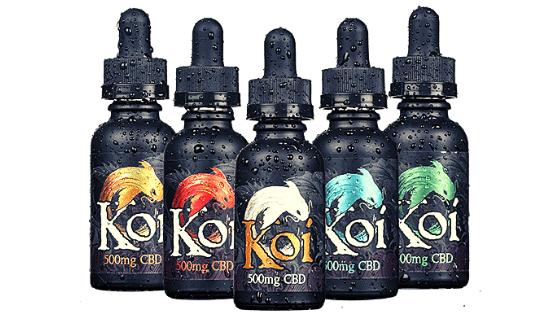 Koi CBD Vape Juice Flavors