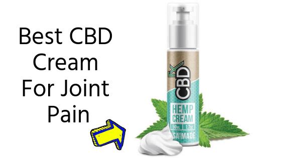 Best CBD Cream For Joint Pain