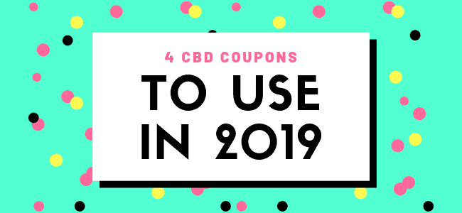 4 CBD Coupons You Should Save