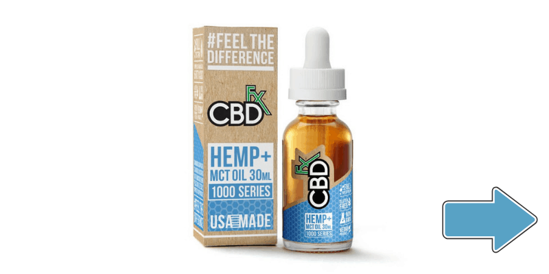CBDfx CBD Oil For Anxiety