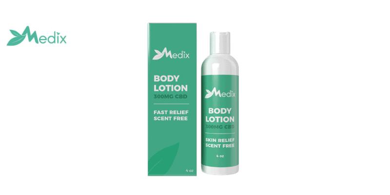 Medix CBD Scent Free Lotion