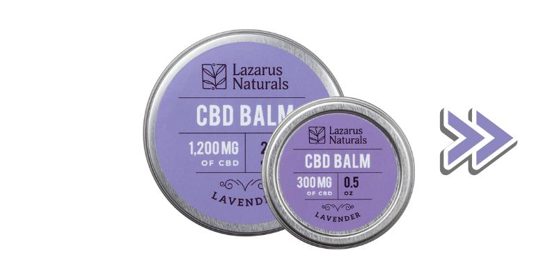 Lazarus Naturals CBD Balm