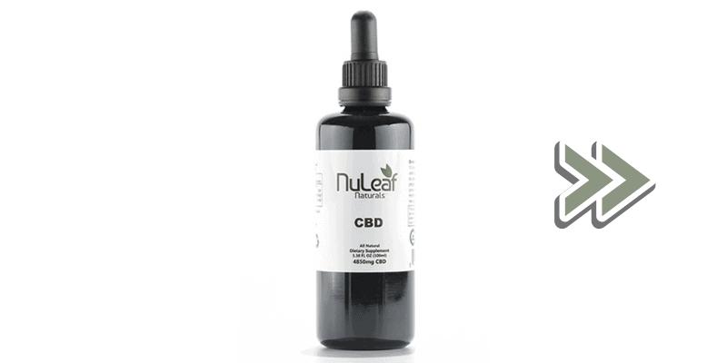 4850mg Nuleaf Naturals Tincture
