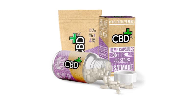 CBDfx Hemp Capsules