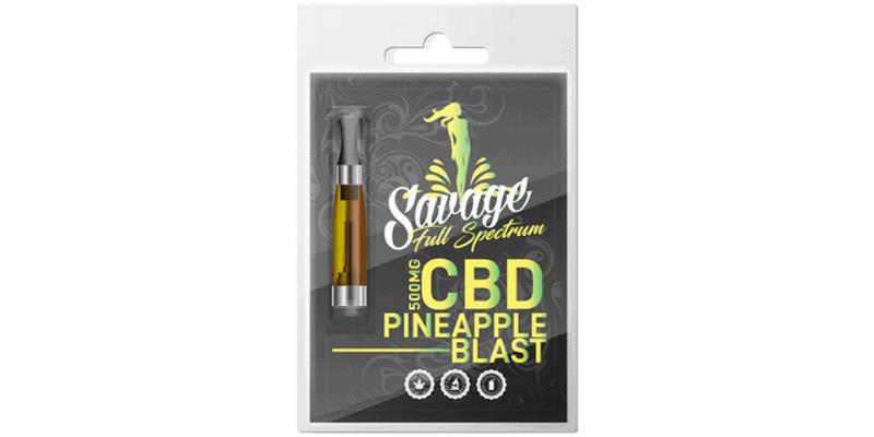 Savage CBD 500mg Pineapple Blast