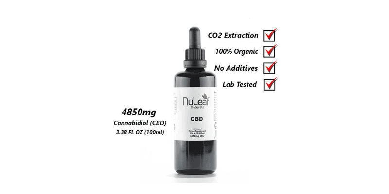 Nuleaf Naturals: 4850mg Full Spectrum CBD Oil