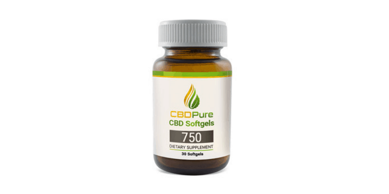 CBD Pure CBD Softgels
