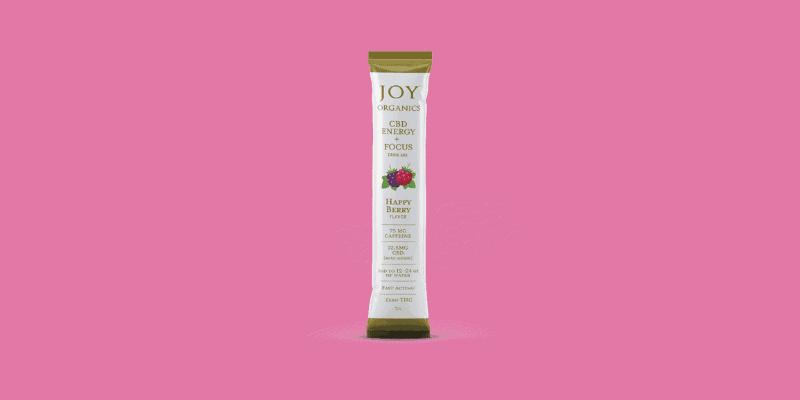 Joy Organics CBD Drink