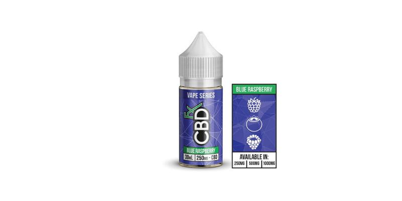CBDfx Blue Raspberry Vape Juice