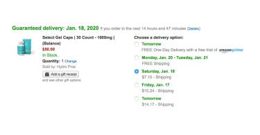CBD on Amazon