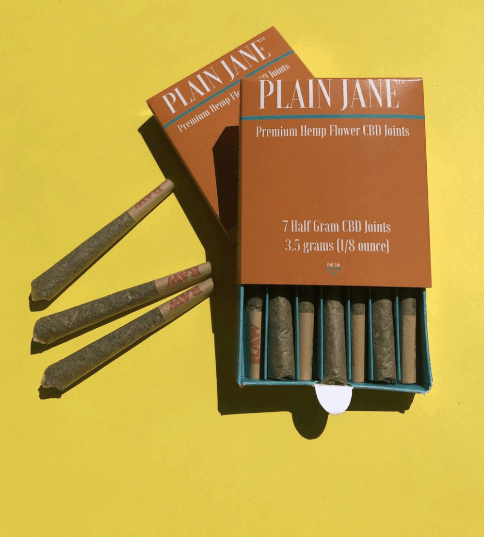 CBD Pre-Rolled Joints by Plain Jane