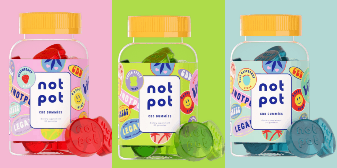 Not Pot CBD Gummies