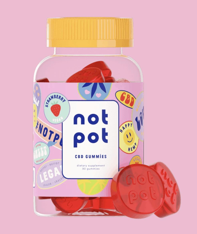 Strawberry Not Pot CBD Gummies