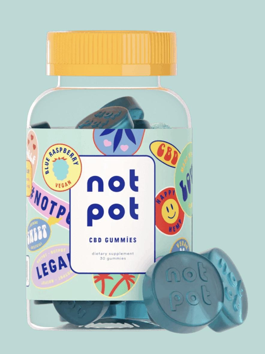 Blueberry Not Pot CBD Gummies
