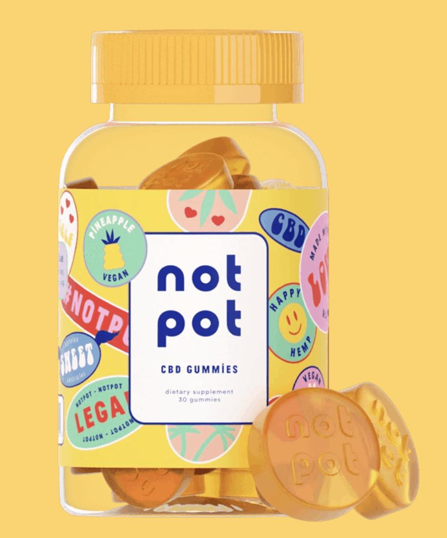 Pineapple Not Pot CBD Gummies